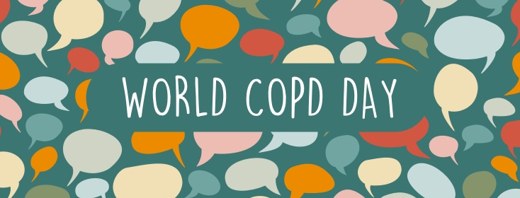quote bubbles for World COPD Day.