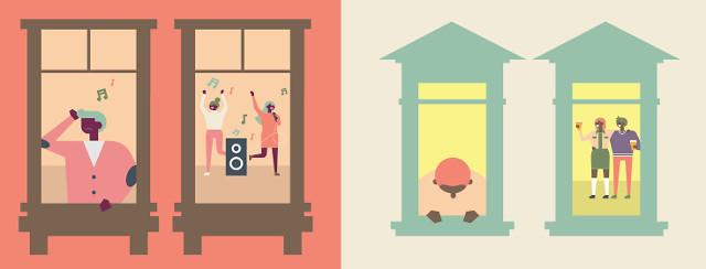 windows into holiday homes