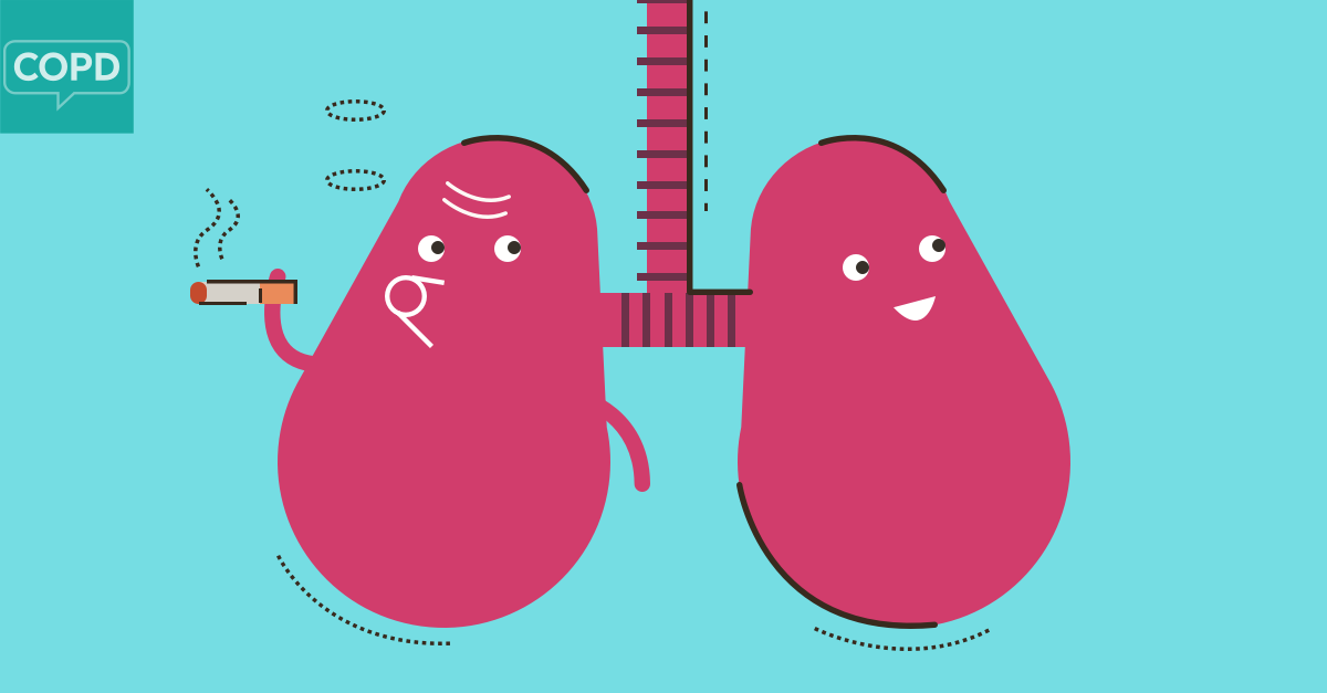 The Time I Smoked   with COPD | COPD net