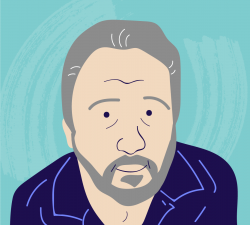Illustrated headshot of COPD.net Advocate Michael Vincent