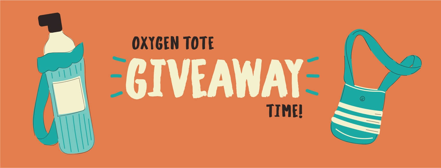 COPD.net Oxygen Tote Giveaway! – Closed