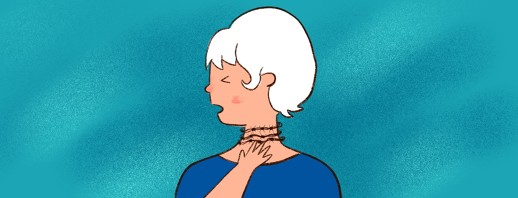 COPD and Throat Pain image
