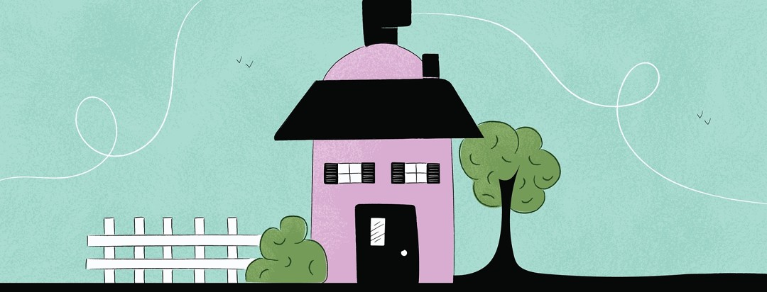 A house made out of an oxygen tank
