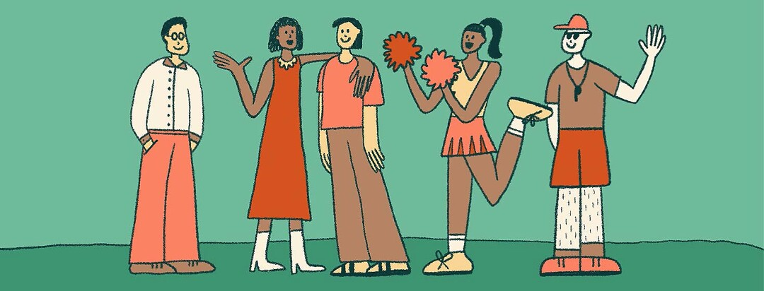 The four people everyone needs: mentor, peer or friend, cheerleader and coach